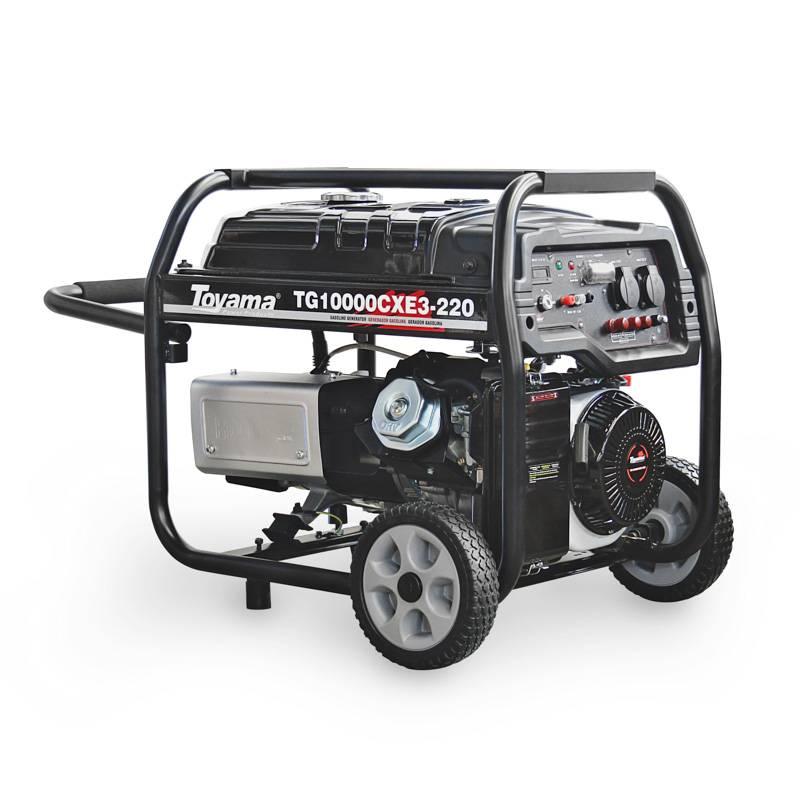 Gerador Toyama TG10000CXE3-220 Trifásico 220V Gasolina 10KVA Partida Elétrica - MATERGI MATERIAIS DE CONSTRUÇÃO