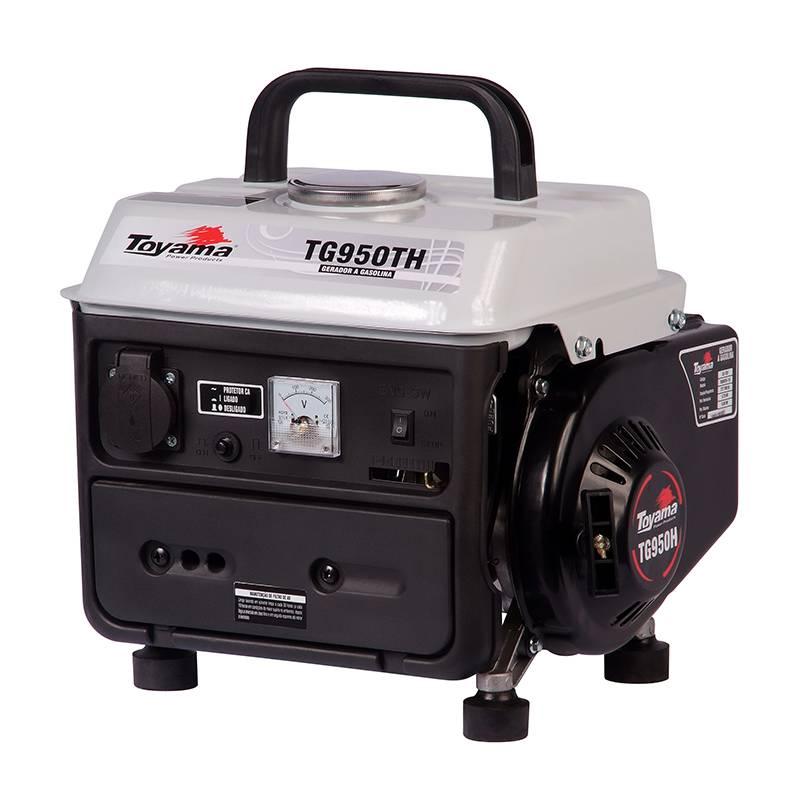 Gerador Toyama TG950TH-220 Gasolina 0,8KVA Partida Manual - MATERGI MATERIAIS DE CONSTRUÇÃO