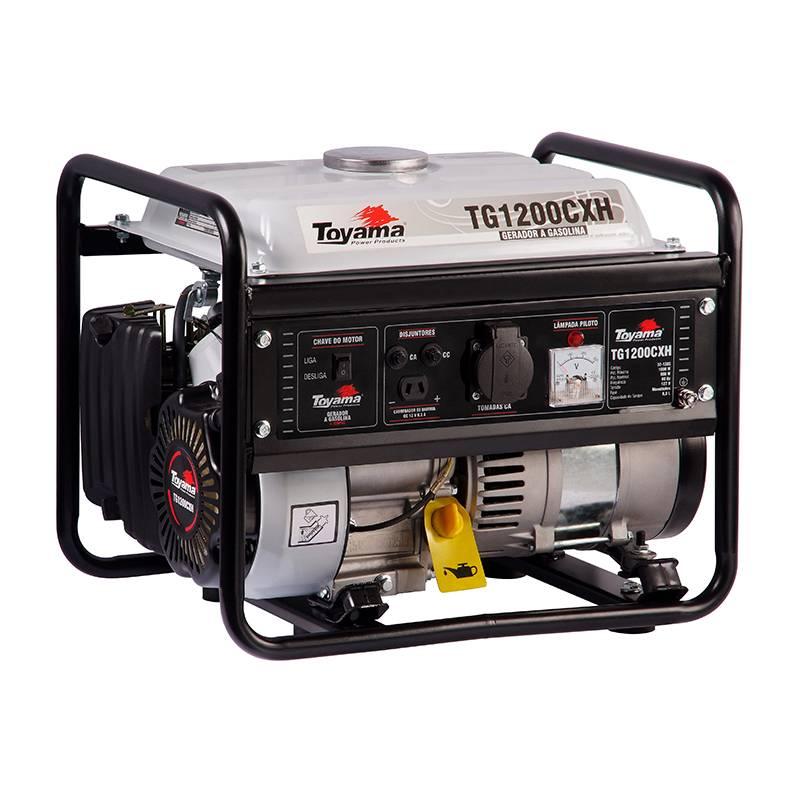Gerador Toyama TG1200CXH-220 Gasolina 1KVA Partida Manual - MATERGI MATERIAIS DE CONSTRUÇÃO