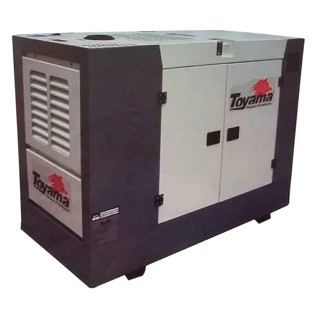 Gerador Toyama TDMG25SSE3-220 Diesel 27,5KVA Partida Elétrica - MATERGI MATERIAIS DE CONSTRUÇÃO