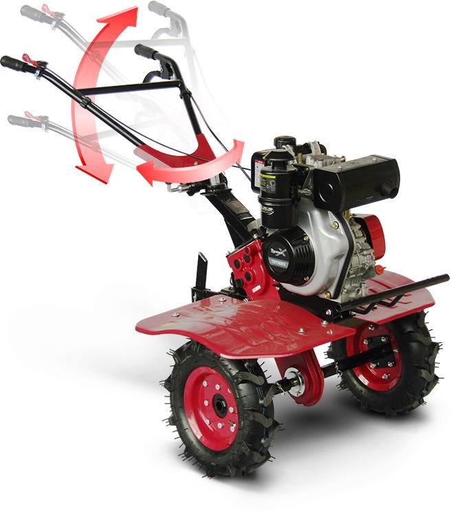 Motocultivador à Diesel C/ Pneu aro 8 TDT90RX 5,1 HP Toyama - MATERGI MATERIAIS DE CONSTRUÇÃO