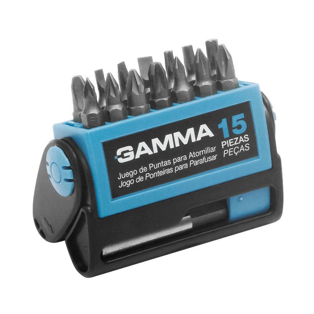 Jogo Bits 15PC G19519AC Gamma - MATERGI MATERIAIS DE CONSTRUÇÃO