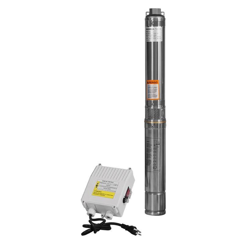 Bomba Submersa caneta 3/7 G1725/BR1 ½CV 127V Mono Gamma - MATERGI MATERIAIS DE CONSTRUÇÃO