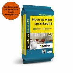 Argamassa Bloco de  Vidro Quartzolit 5KG