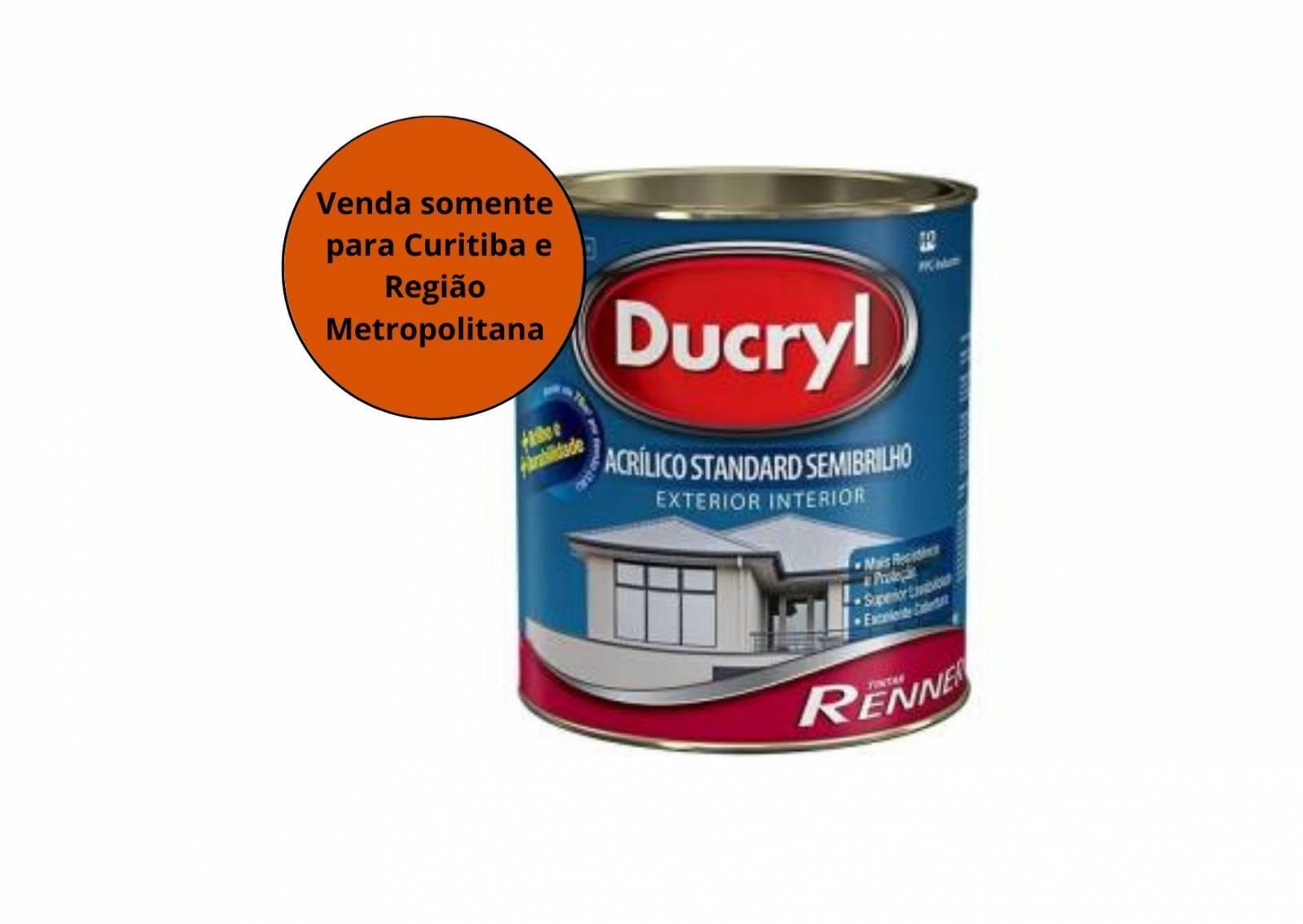 Tinta Acrílico Ducryl Fosca  Renner - MATERGI MATERIAIS DE CONSTRUÇÃO