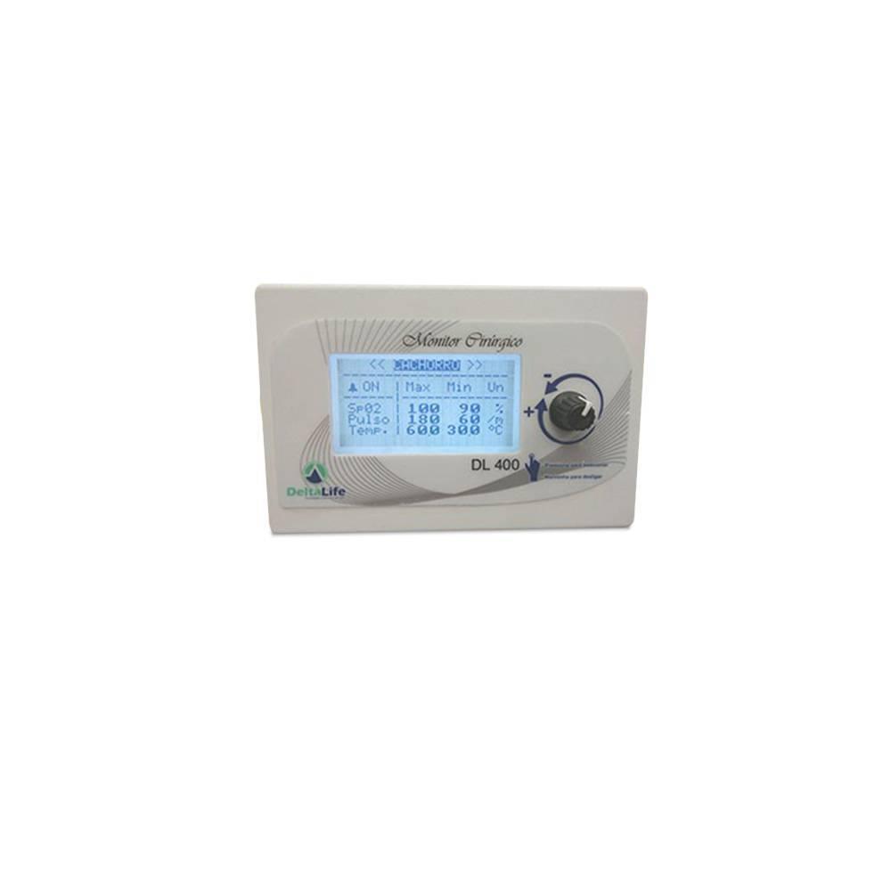 Monitor Cirúrgico Vet com Temperatura - DL410