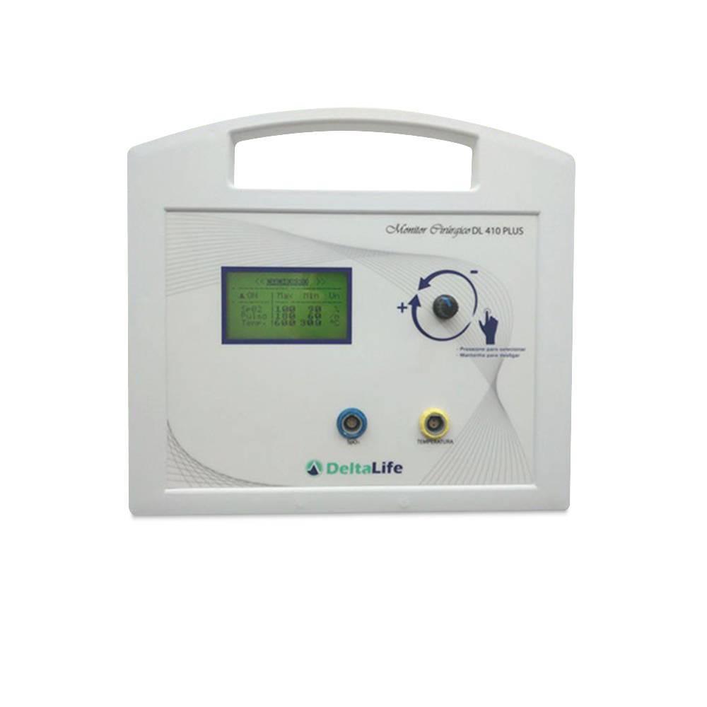 Monitor Cirúrgico Oxipet Vet com Temperatura - DL410 PLUS