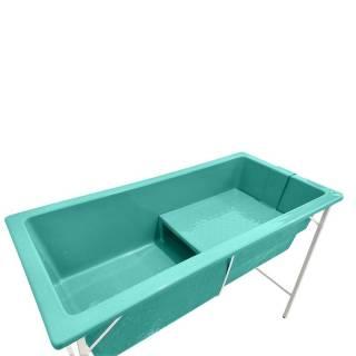 Banheira de Fibra Grande Pé Fixo | Amplavet