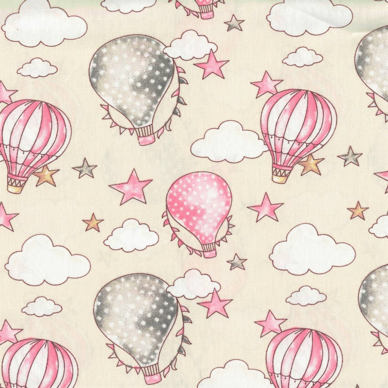 Balloon Bege com Rosa Ref. 180636 cor 01 Caldeira - Armarinhos Nodari