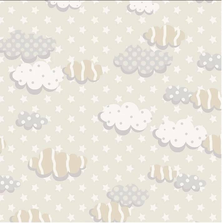 Nuvens bege Ref. RT227 Fuxicos e Fricotes - Armarinhos Nodari