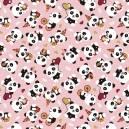Estampado Pandas Ref. 2078 Círculo