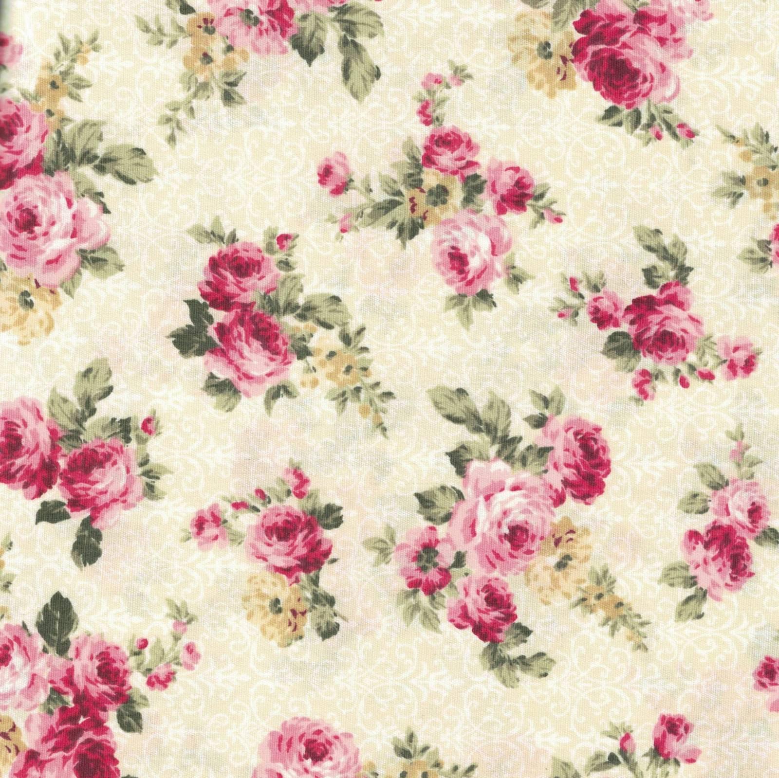 Floral Arabesque Creme Ref. 9902 Fabricart - Armarinhos Nodari