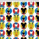 Mickey e amigos Disney Ref. MK007 cor 01