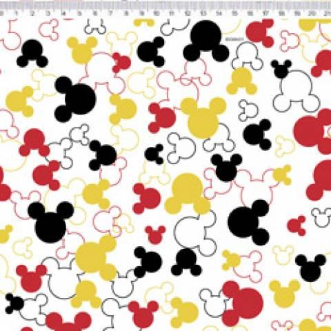 Silhueta Mickey Disney Ref. MK009 cor 01 Fernando Maluhy - Armarinhos Nodari
