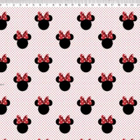 Silhueta Minnie Disney Ref. MI008 cor 01 Fernando Maluhy - Armarinhos Nodari