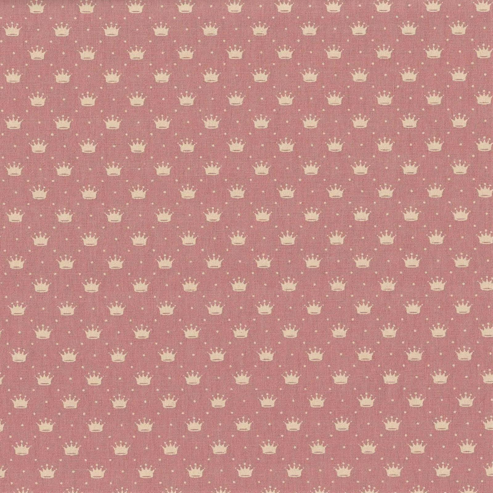 Coroa Com Poá Rosa Antigo Com Creme Ref. 1143 cor 130 Peripan - Armarinhos Nodari