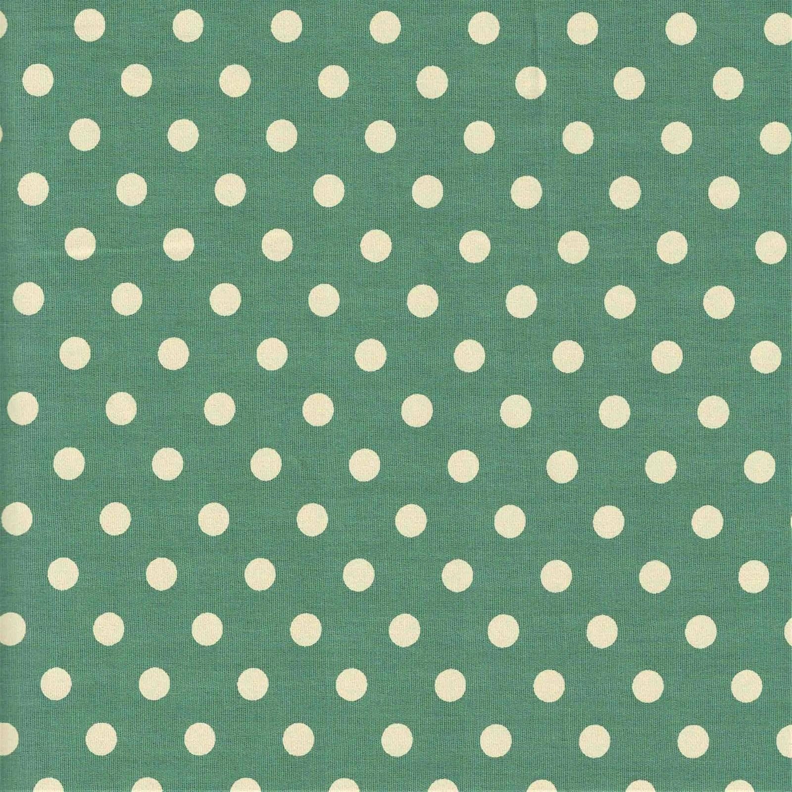 Poá Grande Verde Seco Com Bege Ref.1554 cor 129 Peripan - Armarinhos Nodari