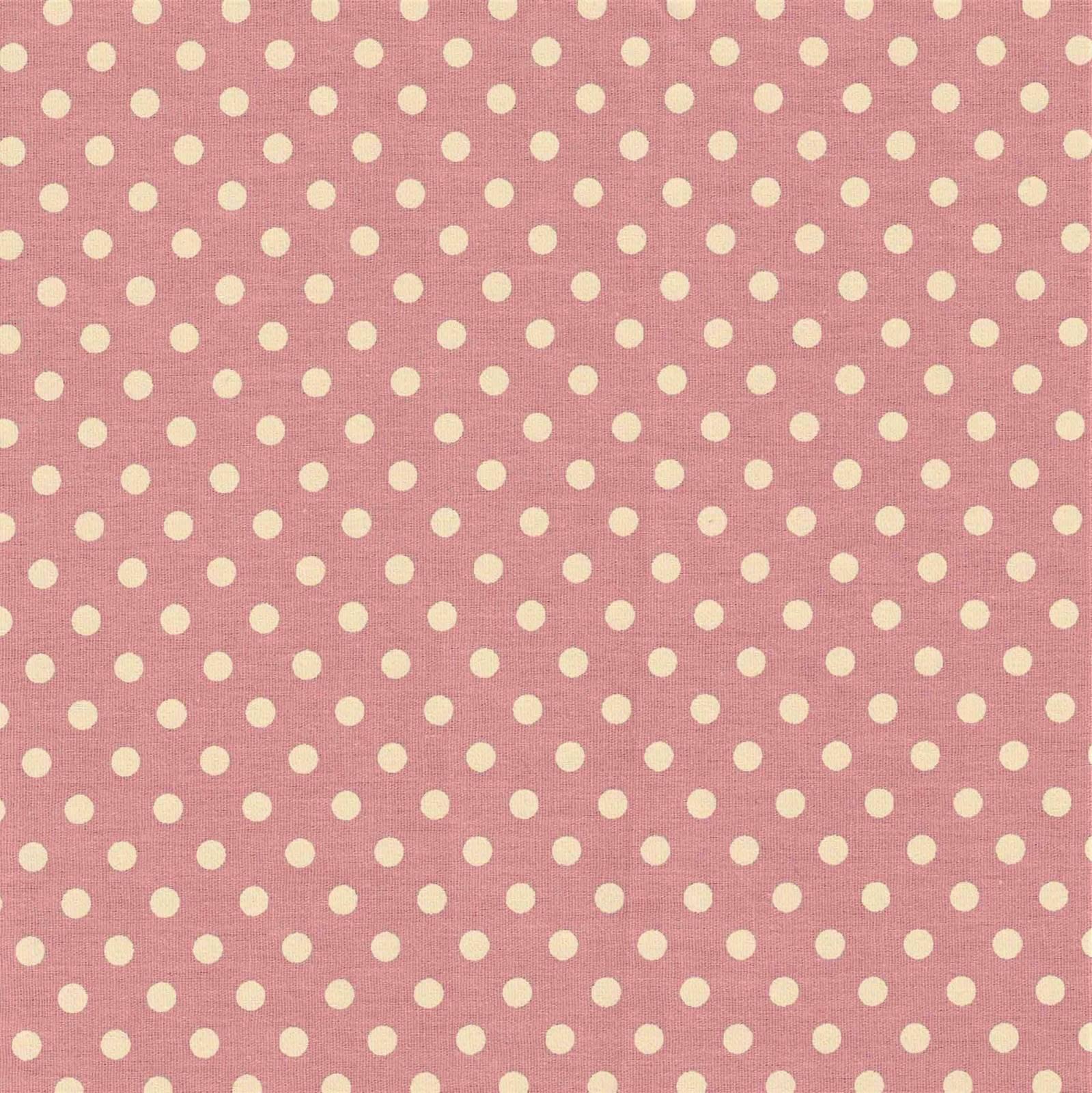 Poá Médio Rosa Antigo Com Creme Ref.1039 Cor 130 Peripan - Armarinhos Nodari