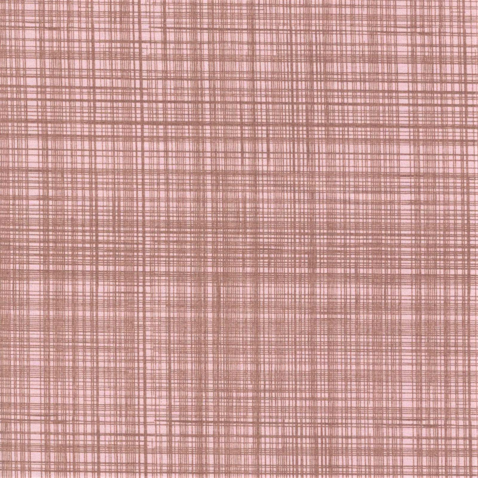 Textura Riscada Rosa Chá Com Marrom Ref.1292 Cor 84 Peripan - Armarinhos Nodari