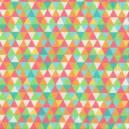 Geométrico Com Laranja Ref. GE6278-7 Eva e Eva