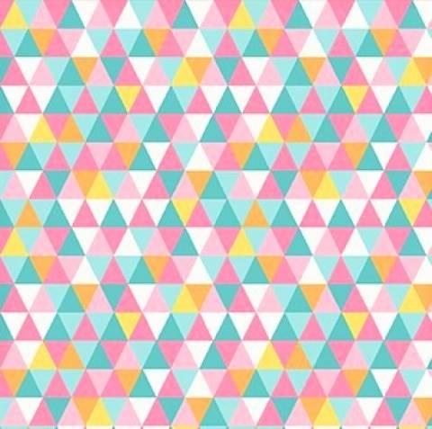 Geométrico Com Rosa Ref. GE6278-8 Eva e Eva - Armarinhos Nodari