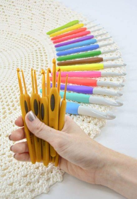 Agulha para Crochê Clover Soft - Armarinhos Nodari