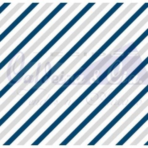 Diagonal - Marinho Com Cinza - Cor 02 - Ref. 180656 - Caldeira - Armarinhos Nodari