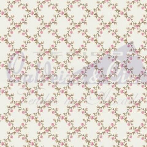Floral Valentina - Rosa - Cor 01 - Ref. 180661 - Caldeira - Armarinhos Nodari