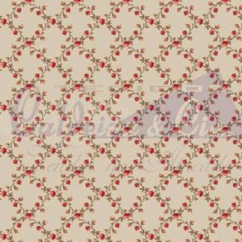 Floral Valentina - Bege - Cor 02 - Ref. 180661 - Caldeira - Armarinhos Nodari