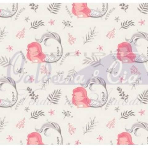 Sereia - Cinza Com Rosê - Cor 05 - Ref. 180655 - Caldeira - Armarinhos Nodari