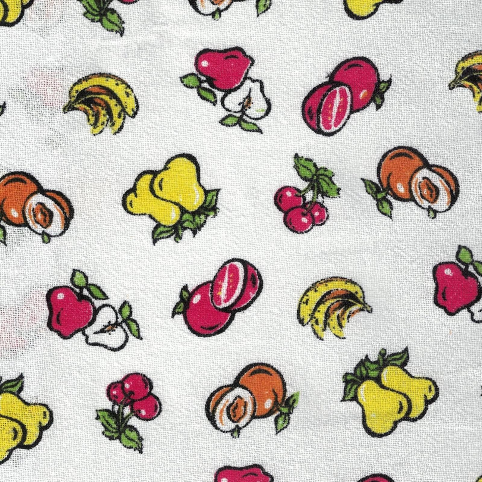 Sacaria Estampada Frutinhas Ref. 5520 Santa Margarida - Armarinhos Nodari
