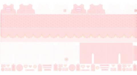 Moldes Roupinhas de Boneca Rosa - Coleção Coração de Pano - Ref. CP001C02 - Fernando Maluhy - Armarinhos Nodari