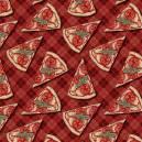Estampa Digital - Pizza - Ref. CF001 - Fuxicos e Fricotes