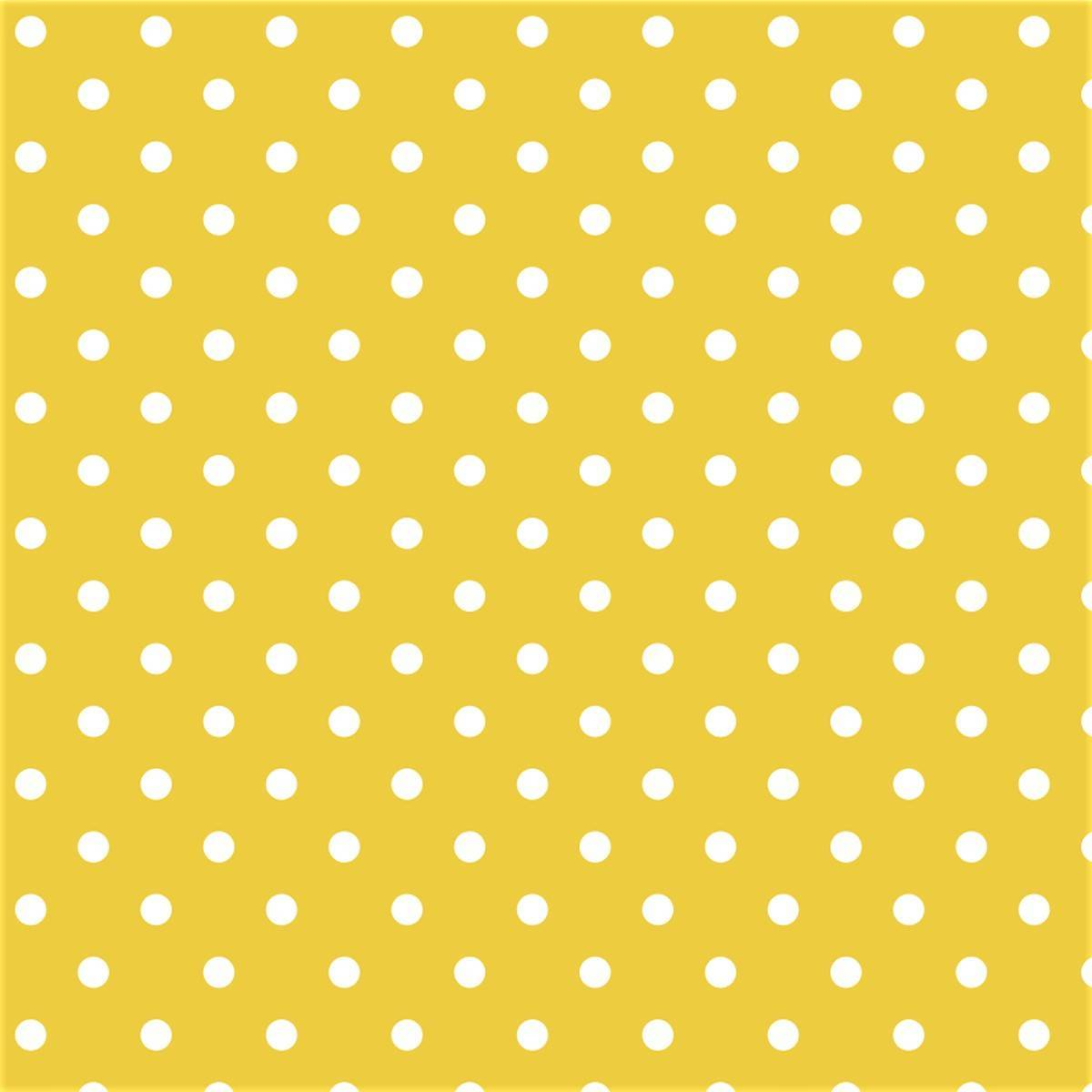 Poá Amarelo - Ref. 1001 cor 134 - Peripan - Armarinhos Nodari