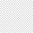 Micro Poá Preto e Branco - Ref. 1002 cor 103 - Peripan