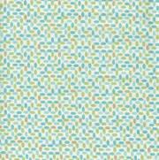 Tecido Tricoline Estampado Geométrico Colorido - Ref. 12870 - Importado - Toke e Crie