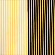 Feltro Estampado Compose Listras Preto e Amarelo - Ref.900 - Santa Fé