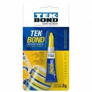 Cola Tek Bond Instantânea - 2g - Tek Bond