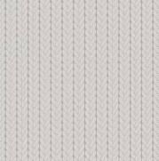 Tecido Tricoline Estampado Básico Tricô Cinza - Ref. RT466 - Fuxicos e Fricotes
