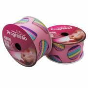 Fita De Gorgurão 38mm com 10m Pop It Candy Colors Fundo Rosa Ref. EGP009TR cor 298 - Progresso
