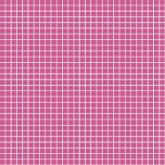 Tecido Tricoline Estampado Quadradinhos Pink - Ref. 900690 - Fabricart