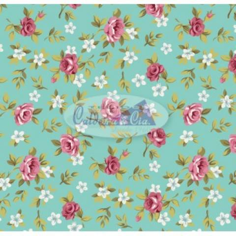 Lúcia Tiffany Com Rosa Ref. 180355 Cor 17 Caldeira - Armarinhos Nodari