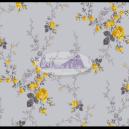 Sarah cor - 202 (Cinza com Amarelo) Ref. 200118 cor 202 Caldeira