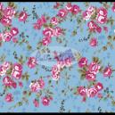 Poliana cor - 201 (Azul com Rosa) Ref. 200520 cor 201 Caldeira
