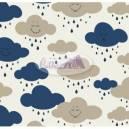 Cloud cor - 04 (Marinho com Bege) Ref. 180597 cor 04 Caldeira
