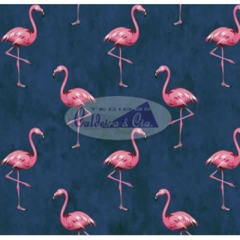 Flamingo (Marinho) Ref. 180609 Cor 01 Caldeira - Armarinhos Nodari