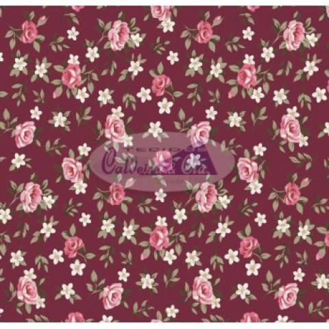 Lúcia cor - 13 (Fundo Bordo) Ref. 180355 cor 13 Caldeira - Armarinhos Nodari