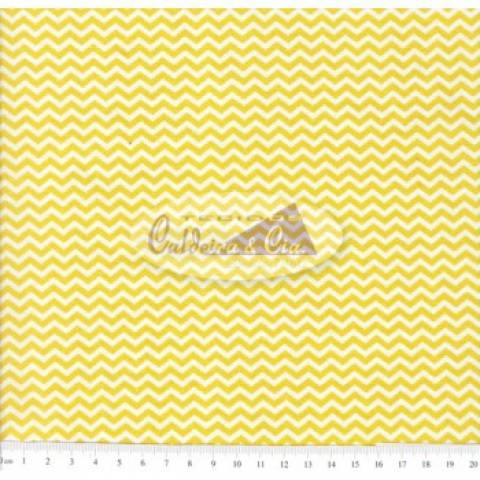 Mini Chevron (Amarelo) Ref. 180532 Cor 03 Caldeira - Armarinhos Nodari