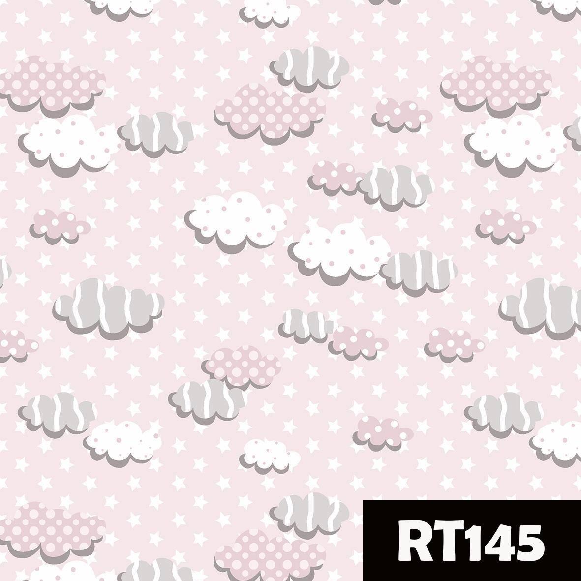 Nuvens rosa Ref. RT145 Fuxicos e Fricotes - Armarinhos Nodari