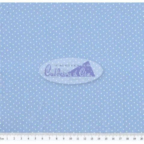 Poá cor - 03 (Azul) Ref. 180301 cor 03 Caldeira - Armarinhos Nodari